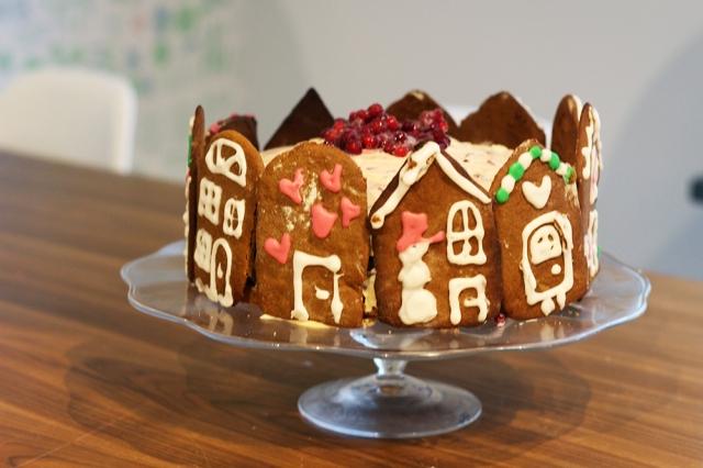 pepparkaks-jultårta